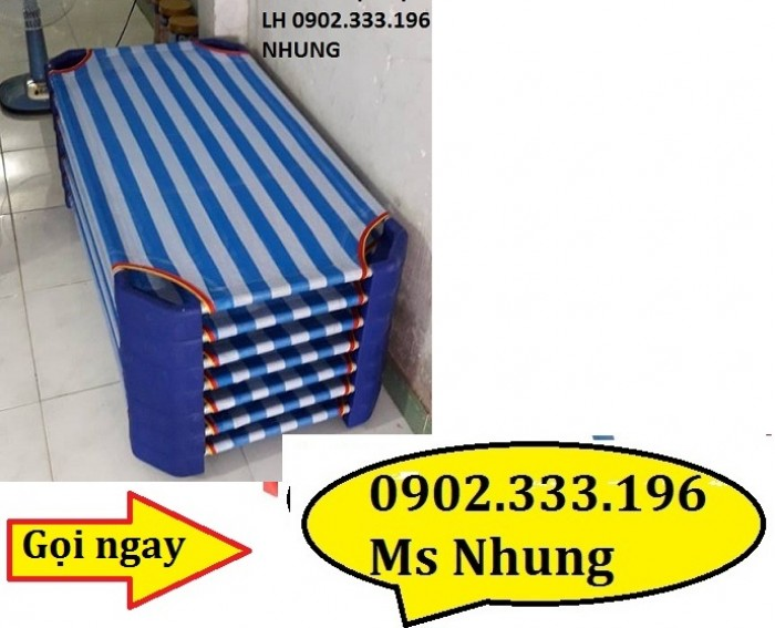 Chuyên cung cấp giường ngủ mầm non bằng lưới