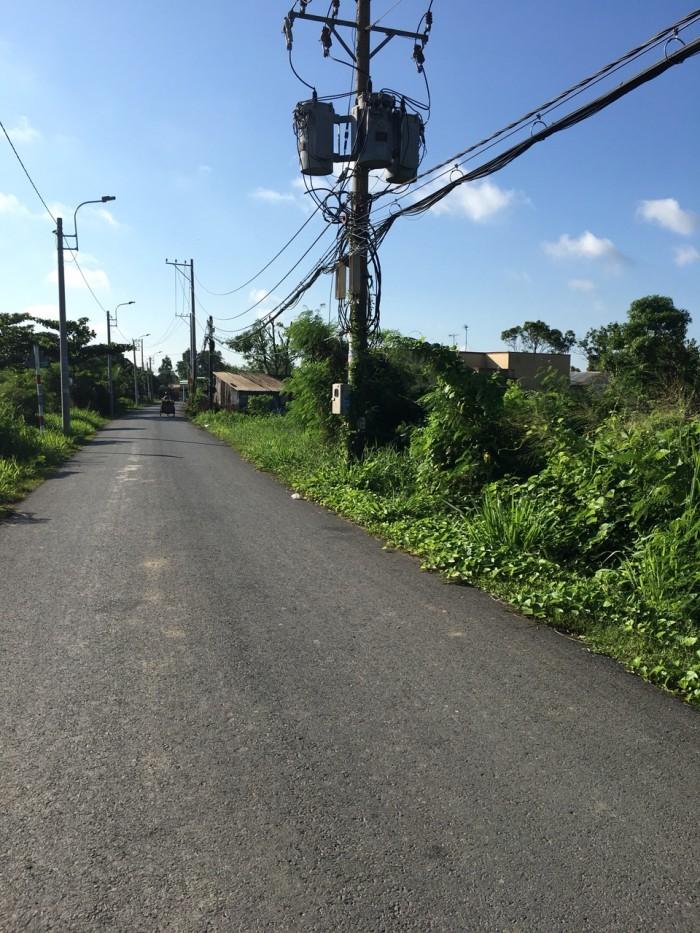 Đất đường oto, xã Hưng Long, Bình Chánh