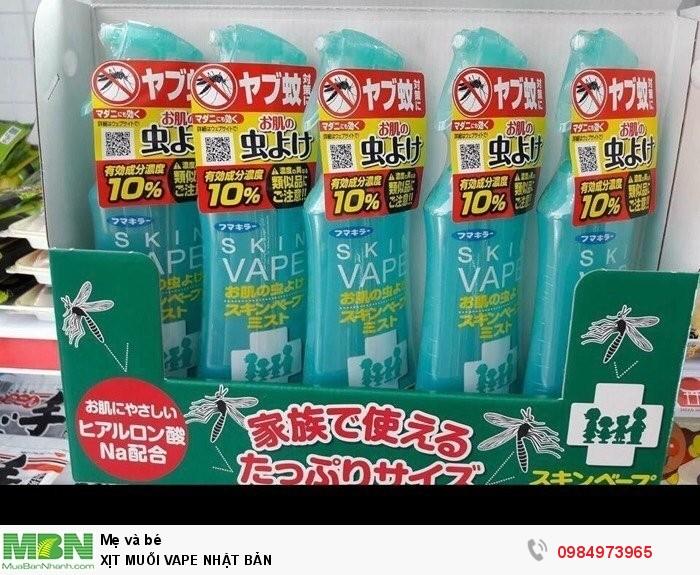 Chai xịt muỗi Vape Nhật Bản0