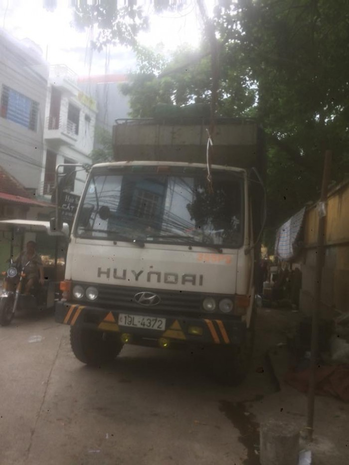 Xe oto tải Huyndai 5 tấn