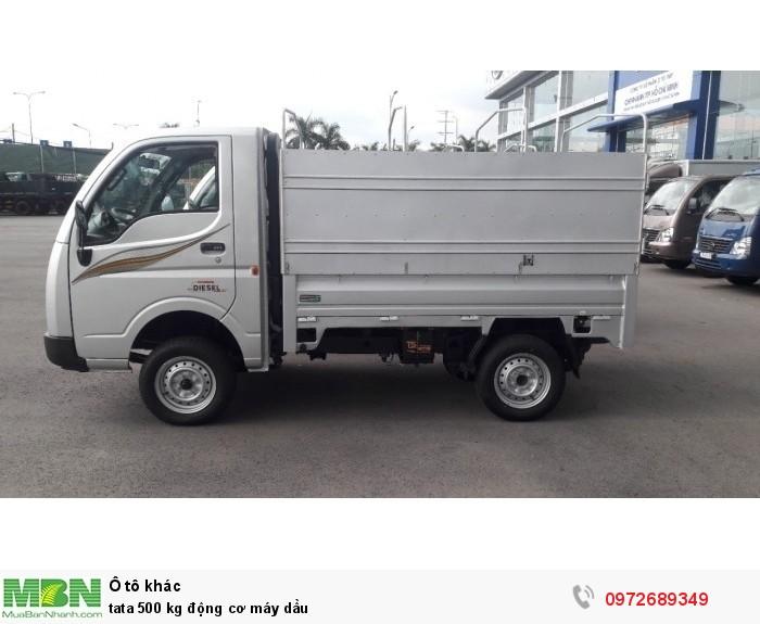 xe tải tata 500 kg động cơ máy dầu