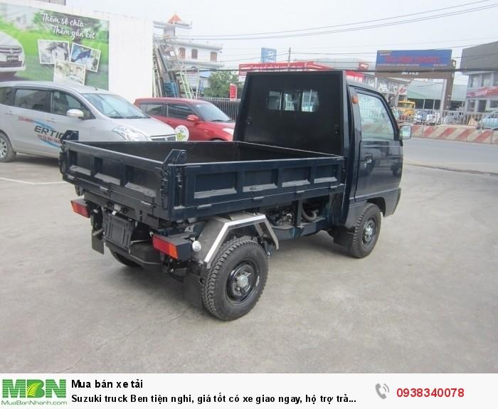 Suzuki truck Ben tiện nghi, giá tốt có xe giao ngay, hộ trợ trả góp