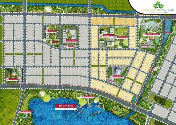 Đất dự án HomeLand Central Park