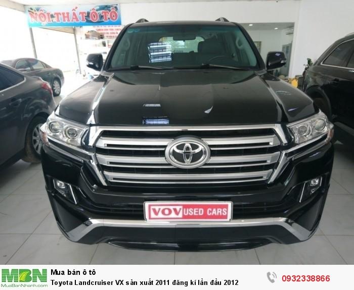 Toyota Landcruiser VX sản xuất 2011 đăng kí lần đầu 2012