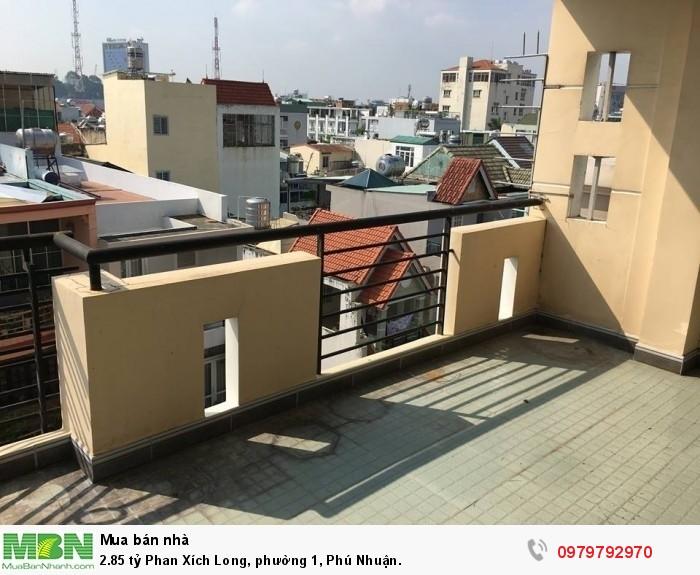 2.85 tỷ Phan Xích Long, phường 1, Phú Nhuận.