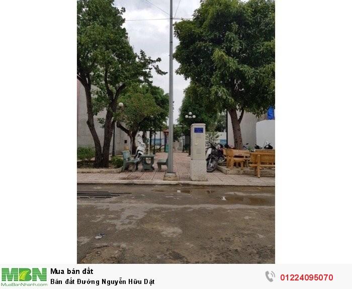 Bán đất Đường Nguyễn Hữu Dật