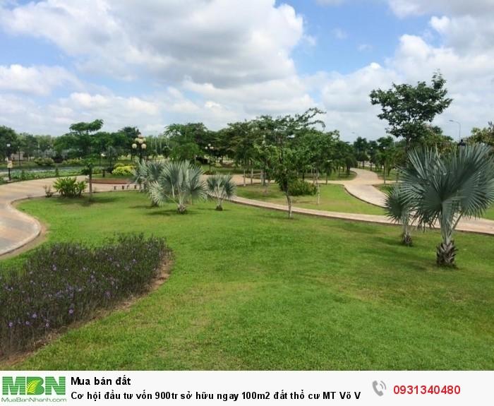 Cơ hội đầu tư vốn 900tr sở hữu ngay 100m2 đất thổ cư MT Võ Văn Kiệt