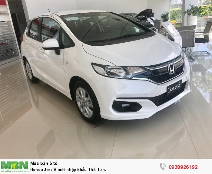 Honda Jazz V mới nhập khẩu Thái Lan.