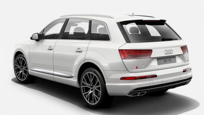 Audi q7 2017 màu trắng