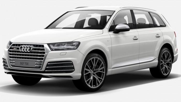 Audi q7 2017 màu trắng 3