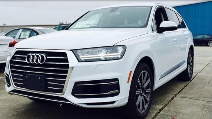 Audi q7 2017 màu trắng 2