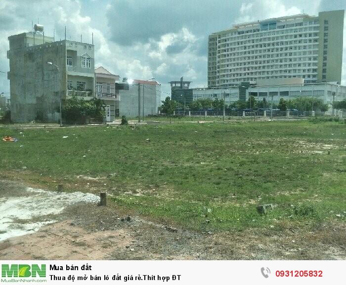 Bán lô đất giá rẻ.