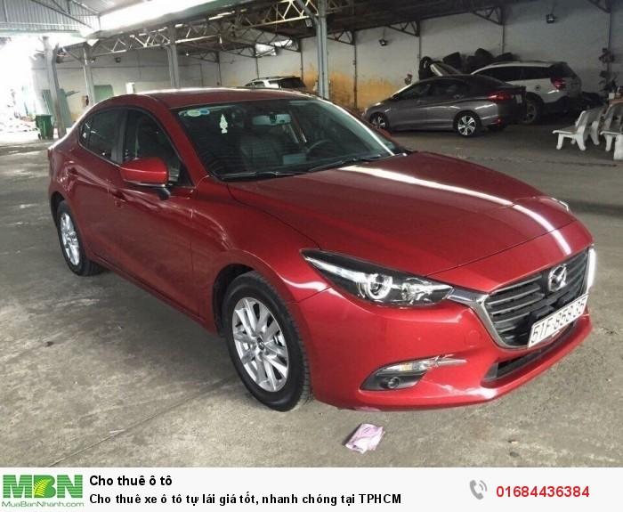 Cho thuê xe ô tô tự lái giá tốt, nhanh chóng tại TPHCM