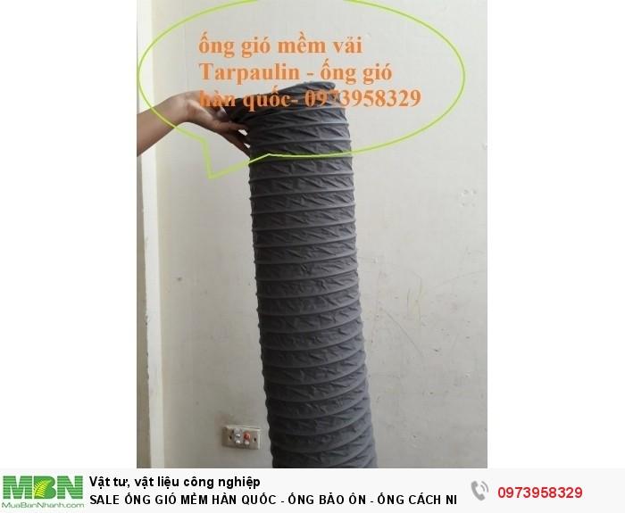 ống gió mềm vải Tarpaulin - ống gió mềm hàn quốc0