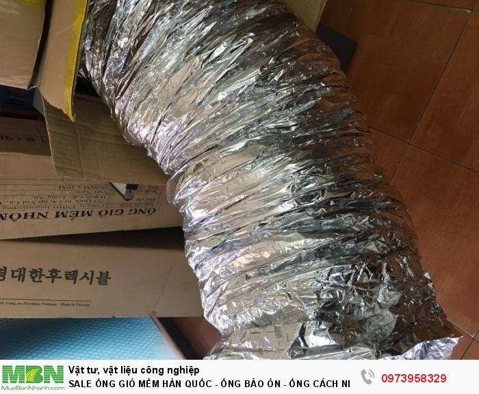 Sale Ống Gió Mềm Hàn Quốc - Ống Bảo Ôn - Ống Cách Nhiệt7