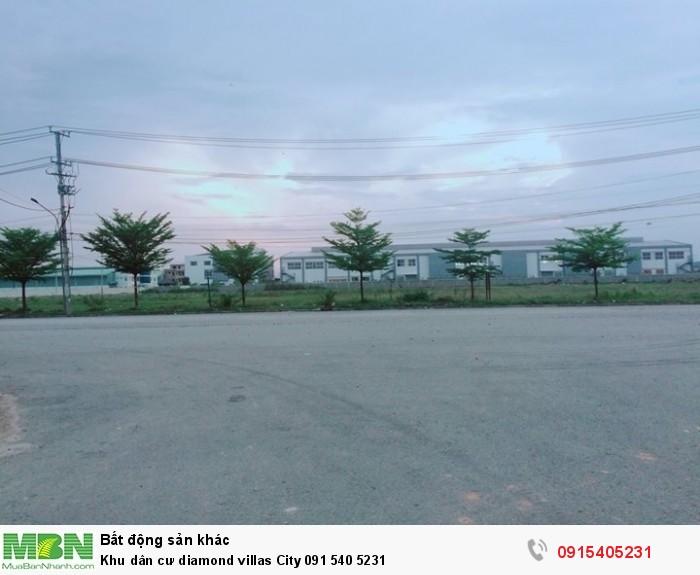 Khu dân cư diamond villas City 091 540 5231
