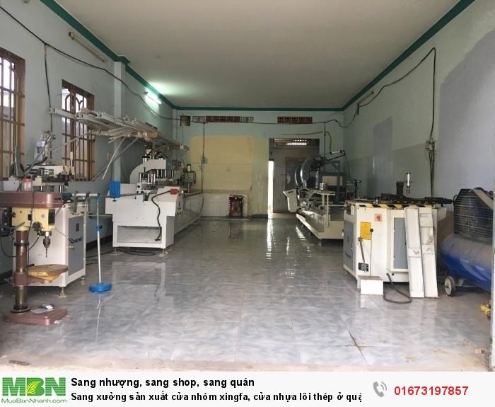Sang xưởng sản xuất cửa nhôm xingfa, cửa nhựa lõi thép ở quận 12