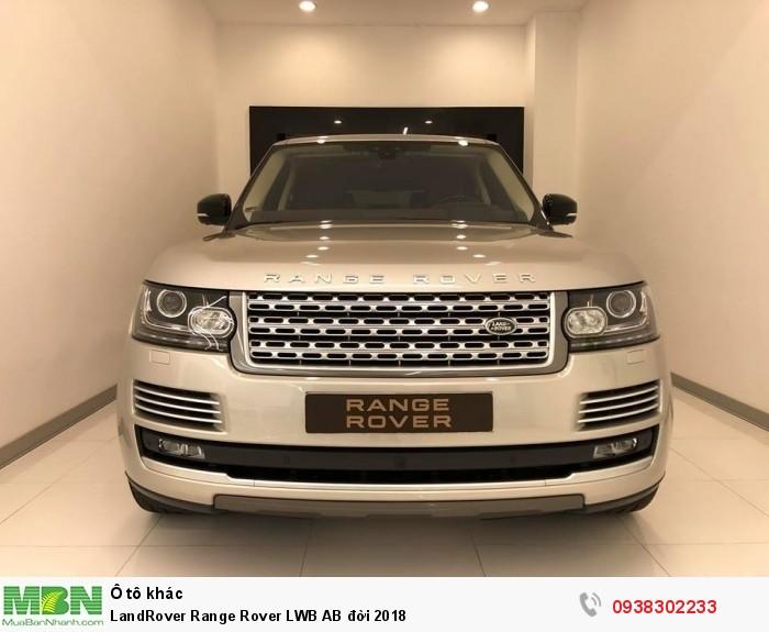 LandRover Range Rover LWB AB đời 2018