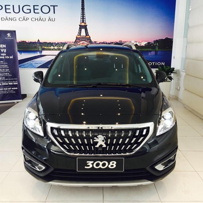 Bán gấp xe Pháp Peugeot 3008 FL | CUV 5 chổ |  Thaco HCM | Hỗ trợ Ngân Hàng 85%
