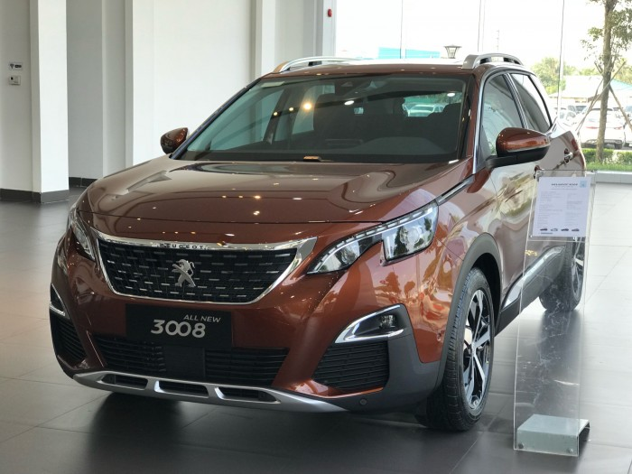 Giá xe Pháp Peugeot 3008 HCM | Thaco HCM | CUV 5 chổ | Hỗ trợ 85% vay ngân hàng