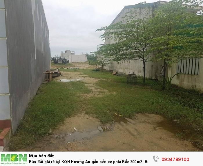Bán đất giá rẻ tại KQH Hương An gần bến xe phía Bắc 200m2. Huế
