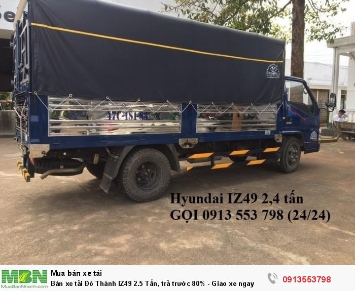 Xe tải Đô Thành IZ49 2.5 tấn - Giao xe toàn quốc! Hotline: 0913553798 (24/24)