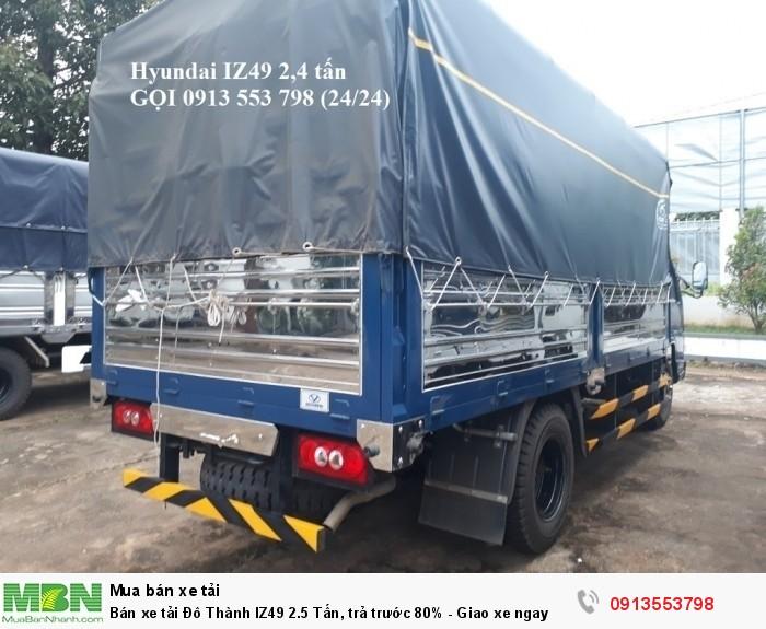 Bán xe tải Đô Thành IZ49 2.5 Tấn, trả trước 80% - Giao xe ngay