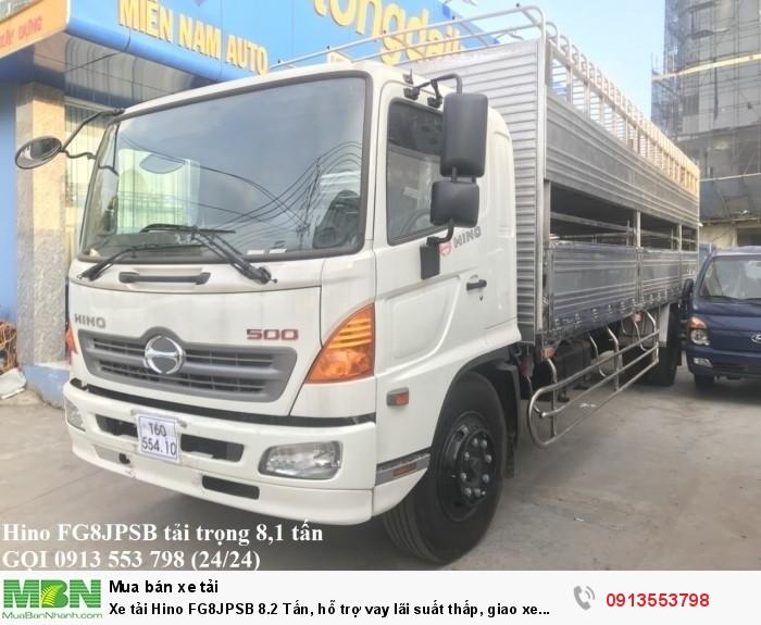 Mua xe tải Hino FG8JPSB 8.2 Tấn
