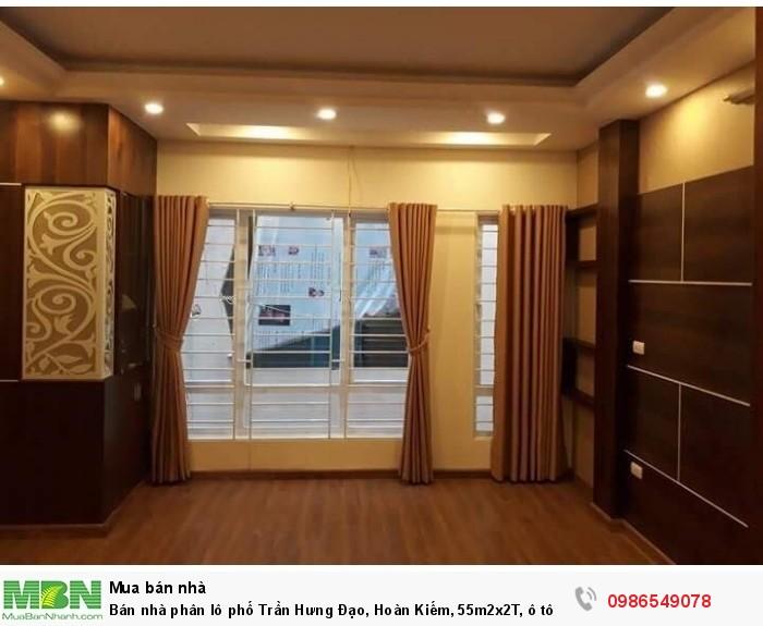 Bán nhà phân lô phố Trần Hưng Đạo, Hoàn Kiếm, 55m2x2T, ô tô đỗ cửa, kinh doanh rất tốt, 10 tỷ.
