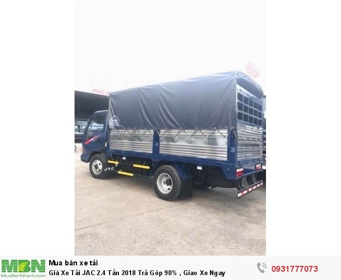 Xe Tải JAC 2.4 Tấn - Đóng thùng xe theo yêu cầu khách hàng