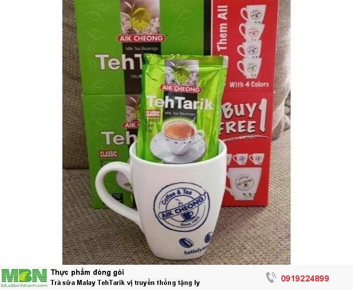 Trà sữa Malay TehTarik vị truyền thống tặng ly0