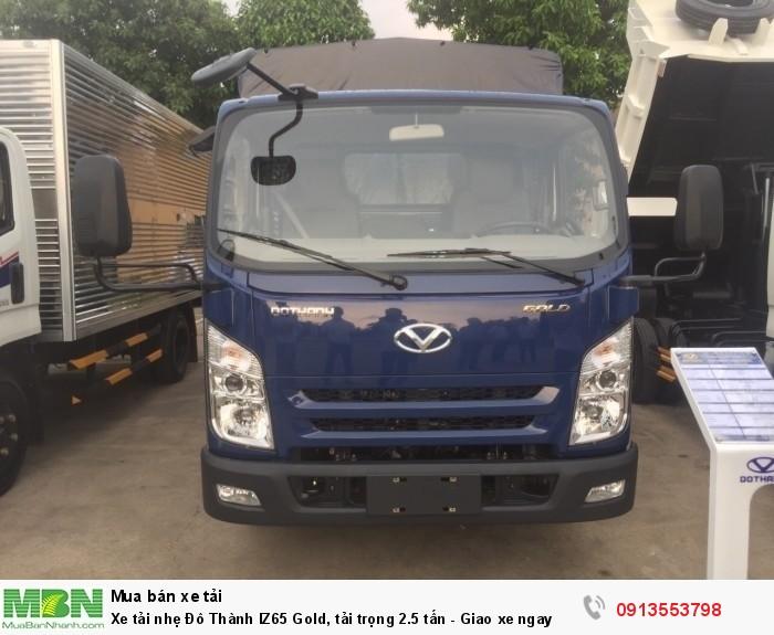 Xe tải nhẹ Đô Thành IZ65 Gold, tải trọng 2.5 tấn - Giao xe ngay