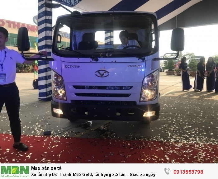 Xe tải nhẹ Đô Thành IZ65 Gold, tải trọng 2.5 tấn - Giao xe ngay 3