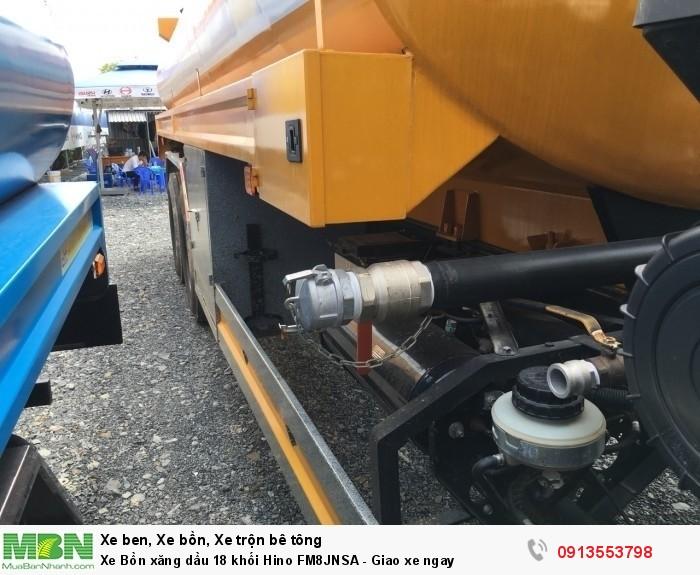 Bán Xe Bồn xăng dầu 18 khối Hino FM8JNSA - Giao xe ngay - Gọi 0913553798 (24/24)