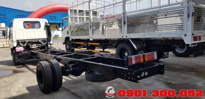 Giới thiệu xe tải Isuzu VM NK490SL 1.9 tấn thùng siêu dài 6.2 mét vào Sài Gòn với khả năng chở hàng ưu việt 9