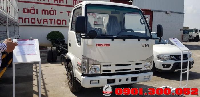 Giới thiệu xe tải Isuzu VM NK490SL 1.9 tấn thùng siêu dài 6.2 mét vào Sài Gòn với khả năng chở hàng ưu việt 5