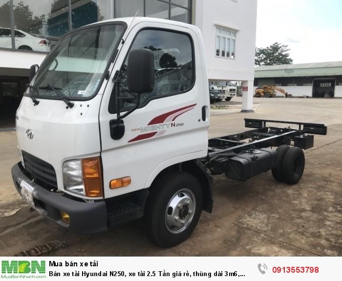 Xe tải Hyundai N250 2.5 Tấn, trả trước 100 triệu. Giao xe ngay - Gọi 0913553798 (24/24)