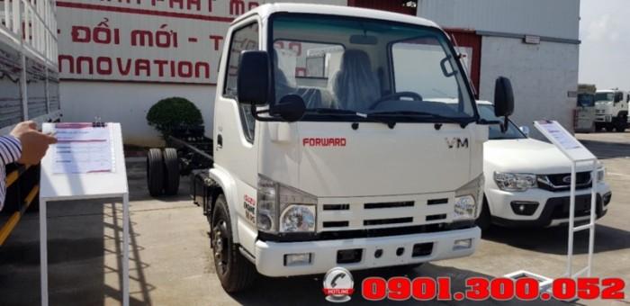 Giới thiệu xe tải Isuzu VM NK490SL 1.9 tấn thùng siêu dài 6.2 mét vào Sài Gòn với khả năng chở hàng ưu việt