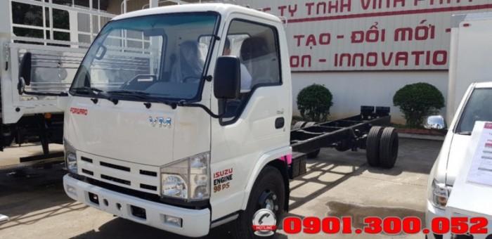 Giới thiệu xe tải Isuzu VM NK490SL 1.9 tấn thùng siêu dài 6.2 mét vào Sài Gòn với khả năng chở hàng ưu việt 1