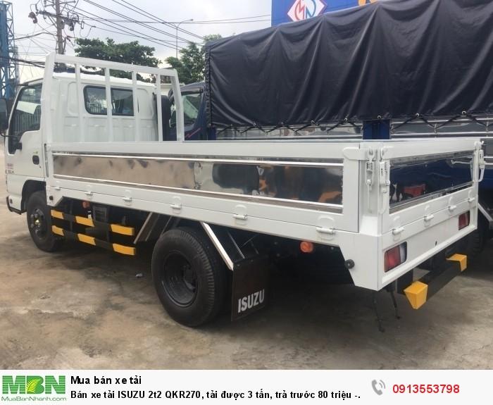 Bán xe tải ISUZU 2t2 QKR270, tải được 3 tấn, trả trước 80 triệu - Gọi 0913553798 (24/24)