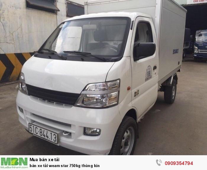Bán xe tải Veam Star 750kg thùng kín 1