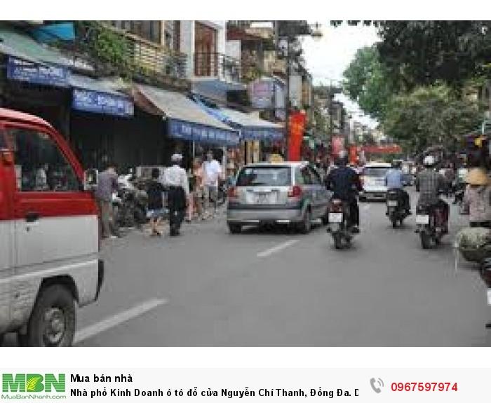 Nhà phố Kinh Doanh ô tô đỗ cửa Nguyễn Chí Thanh, Đống Đa. DT 40m. MT 3,6m. 6,5 tỷ
