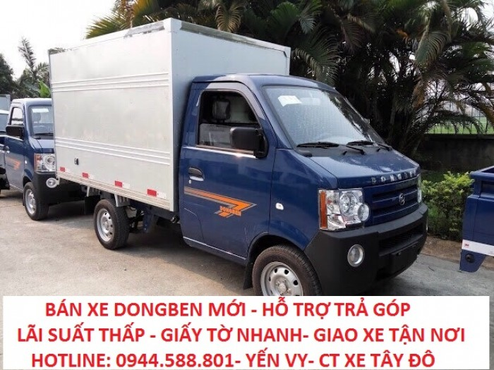 Xe tải Dongben DB1021–770Kg là loại xe tải nhẹ công nghệ GM tiêu chuẩn Châu Âu