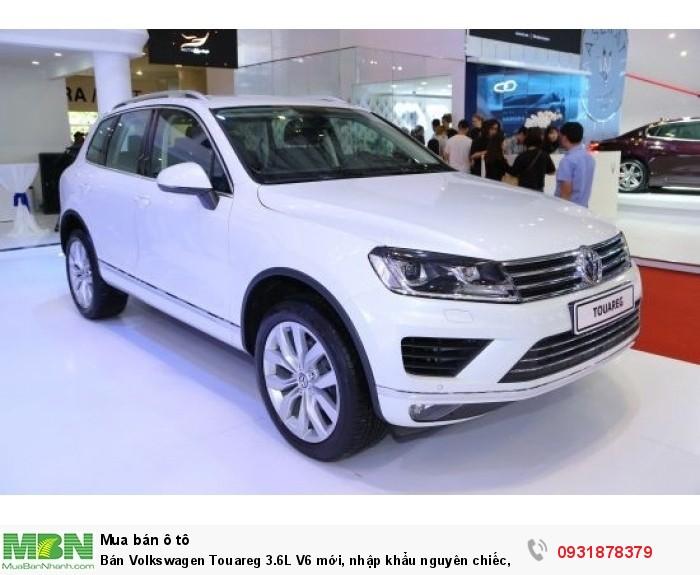Bán Volkswagen Touareg 3.6L V6 mới, nhập khẩu nguyên chiếc, trả trước chỉ từ
