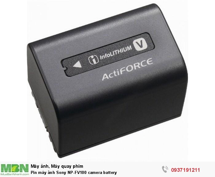 Pin máy ảnh Sony NP-FV100 camera battery0