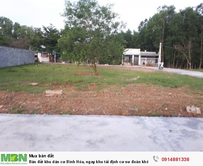 Bán đất khu dân cư Bình Hòa, ngay khu tái định cư sư đoàn không quân