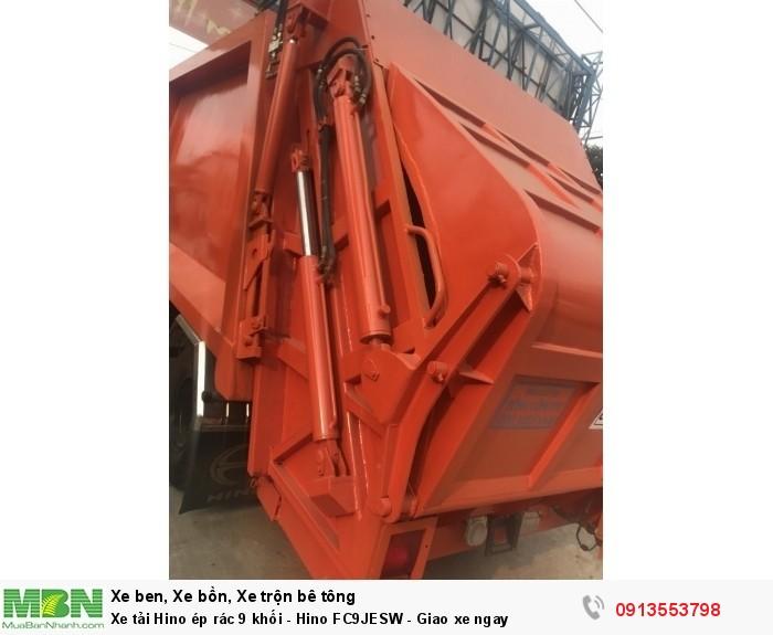 Xe tải Hino ép rác 9 khối - Hino FC9JESW - Giao xe ngay