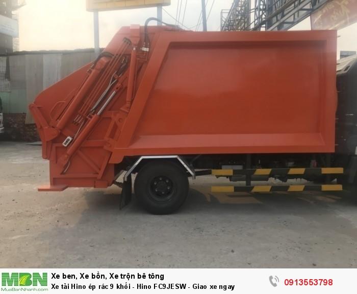 Xe tải Hino ép rác 9 khối - Hino FC9JESW - Gọi 0913553798 (24/24)