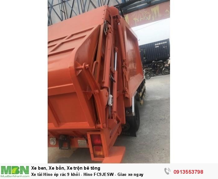Bán Xe tải Hino ép rác 9 khối - Hino FC9JESW -Giao xe ngay - Gọi 0913553798 (24/24)