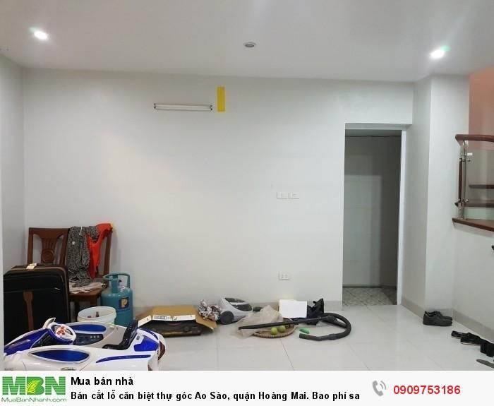 Bán cắt lỗ căn biệt thự góc Ao Sào, quận Hoàng Mai. Bao phí sang tên và full nội thất